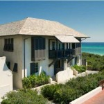 24 Briland in Rosemary Beach was the original gulf front home in Rosemary