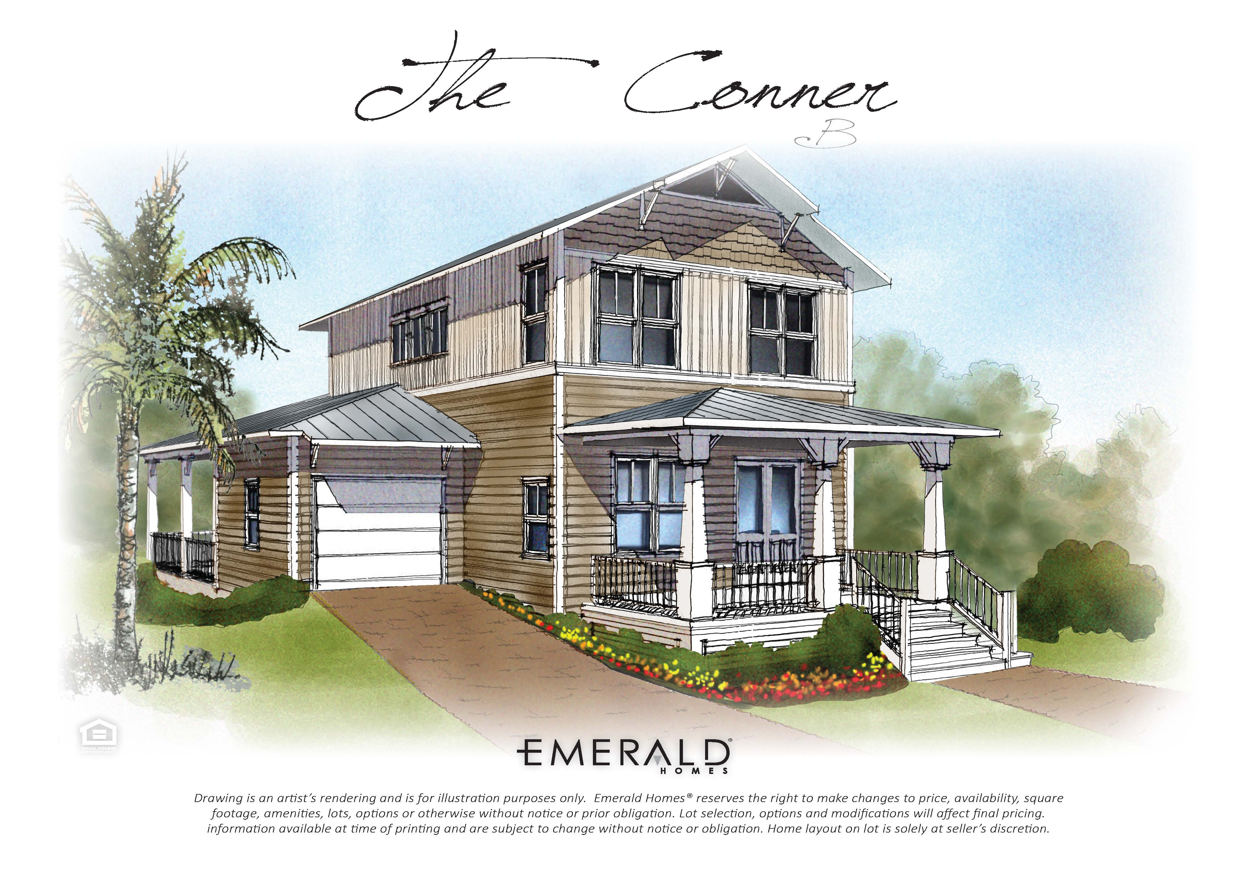 Highland parks in blue mountain beach dr horton 39 s newest for Conner home
