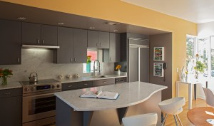 Kitchen with new stainles appliances