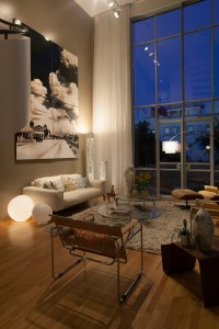 Panoramic views of Ruskin Park from your living room.