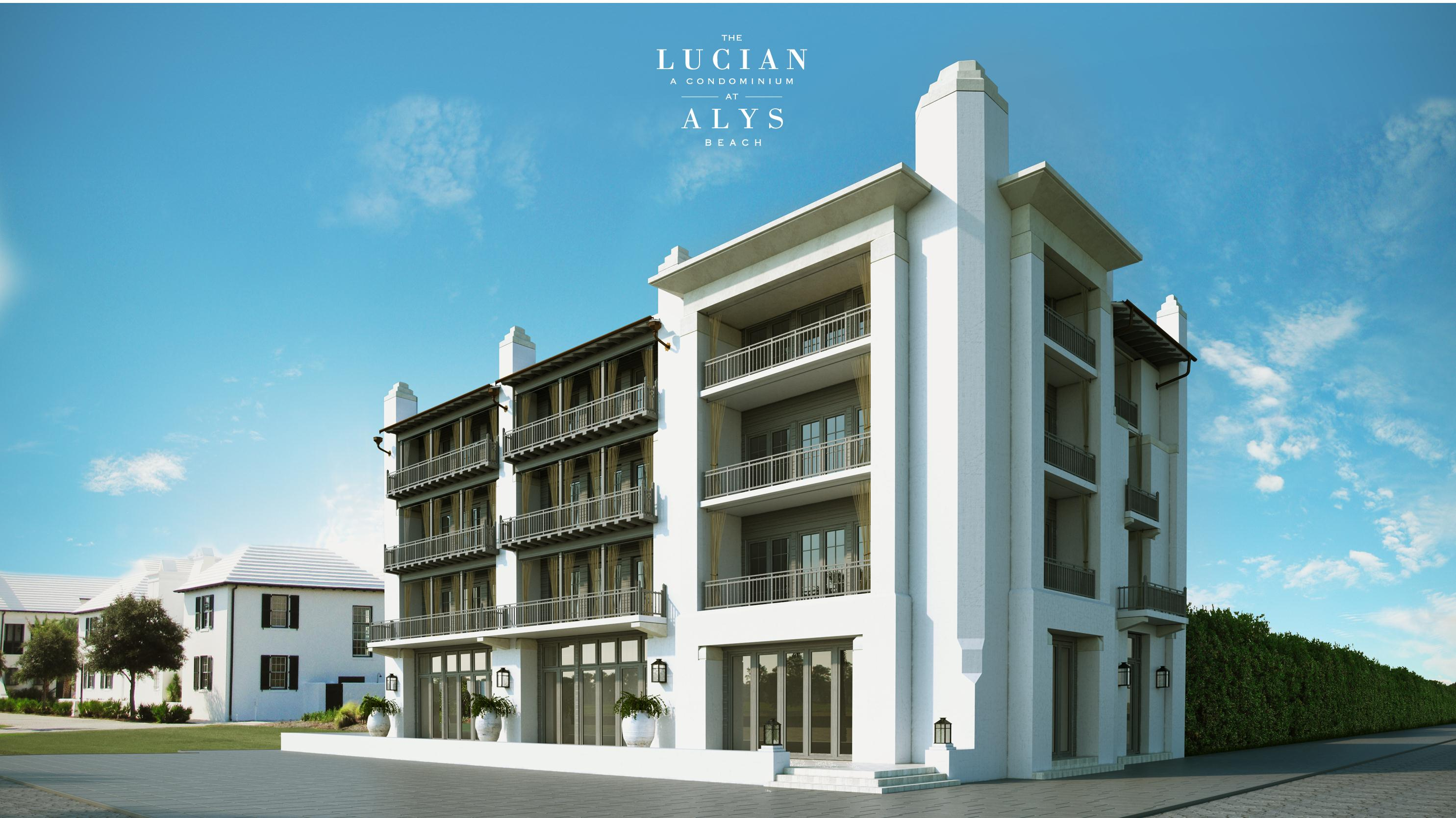 The Lucian at Alys Beach is a pre-construction luxury condo