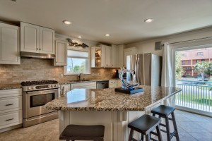 Destin Waterfront Home with Kitchen Island