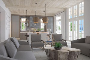 Lot 2 Bluffs at Sandy Shores, Seacrest, living room
